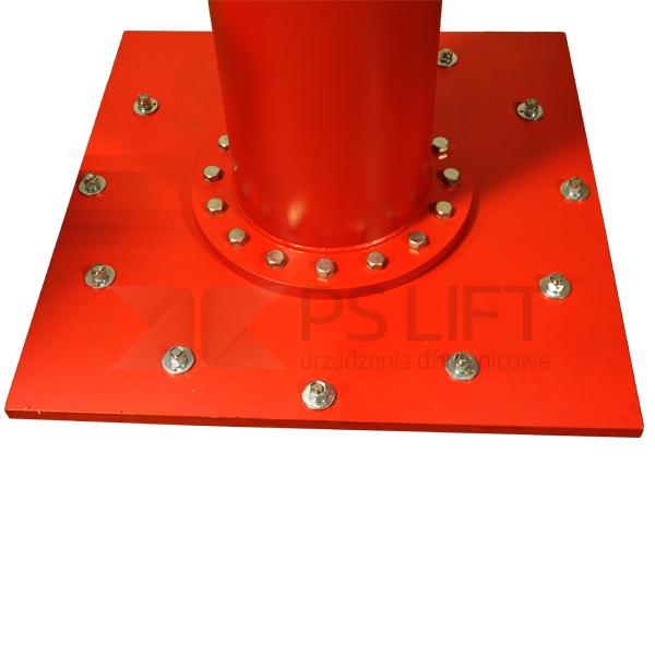 Żuraw słupowy obrotowy Gryf (udźwig do 2500 kg, obrót max.270°)