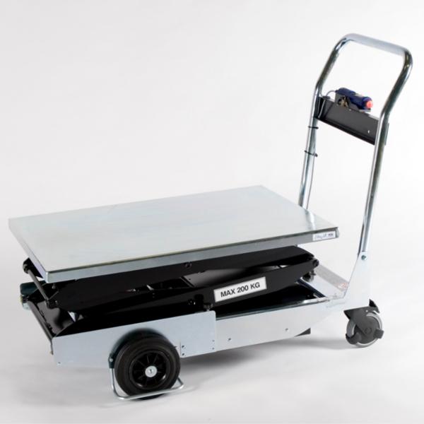 Wózek platformowy nożycowy - seria TZ B (akumulatorowy)