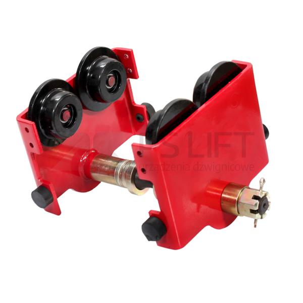 Wózek jezdny ręczny do wciągnika elektrycznego PS-PTS