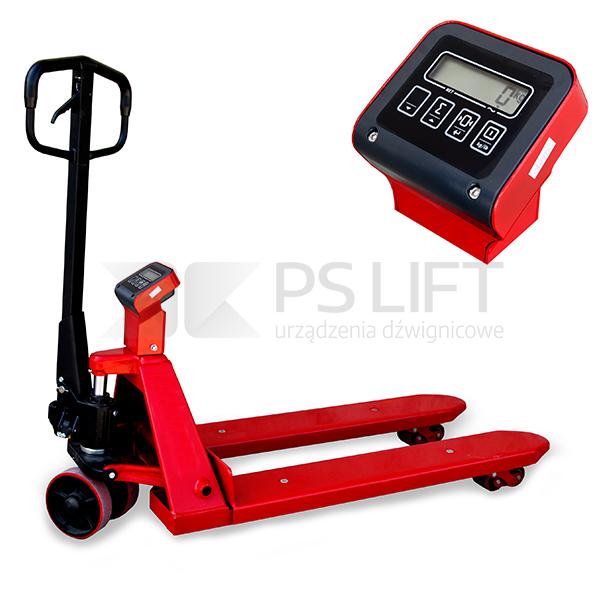 Wózek paletowy ręczny Huzar z wagą bez legalizacji PS 20-115 PTP
