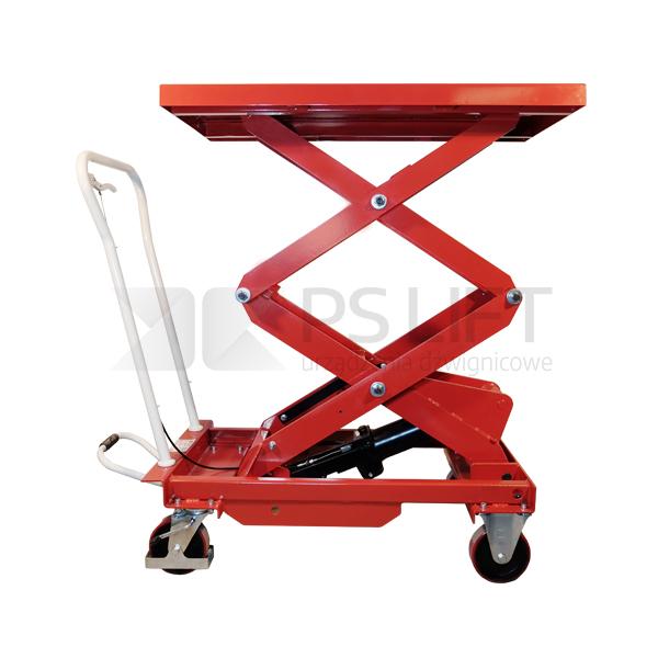 Wózek platformowy nożycowy PS-BS (z pompą nożną)