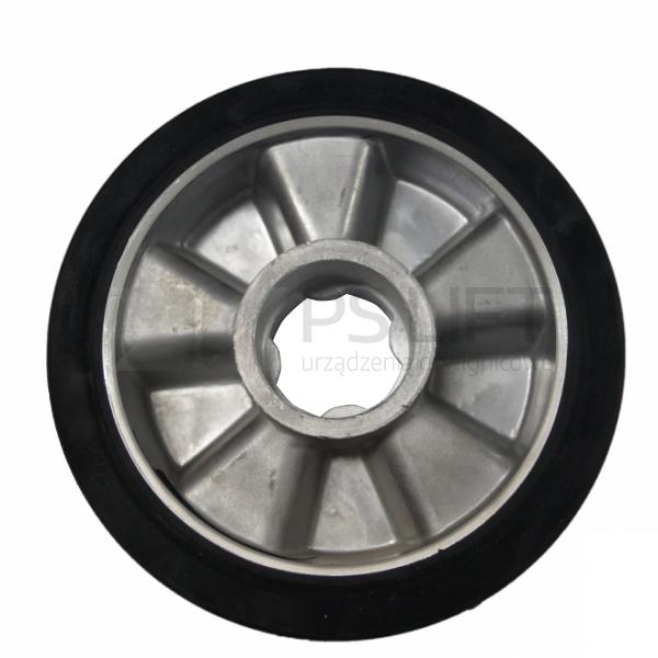 Koło poliuretanowe na feldze aluminiowej 200 mm