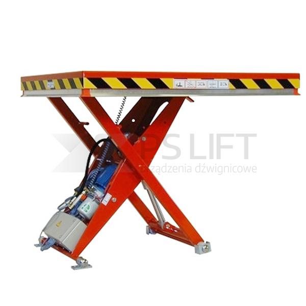 Dźwigniki nożycowe o udźwigu do 1000 kg
