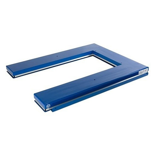 """Dźwigniki nożycowe płaskie - platforma w formie """"U"""" i """"E"""""""