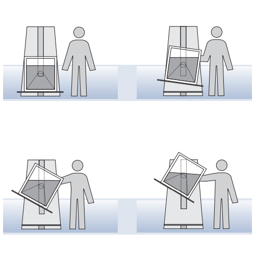 Podnośniki hydrauliczne do palet / skrzyniopalet