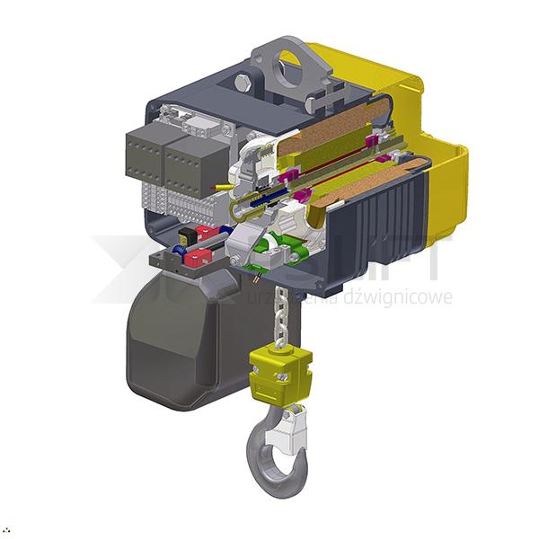 Wciągnik łańcuchowy elektryczny PSCH (udźwig do 5000 kg)
