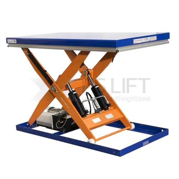 Dźwigniki nożycowe o udźwigu od 1200 do 2000 kg