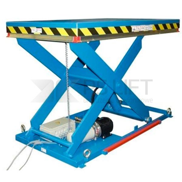 Dźwigniki nożycowe o udźwigu od 4000 kg do 10000 kg