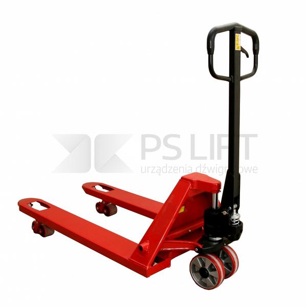 Wózek paletowy ręczny Huzar szeroki PS 25-115/685