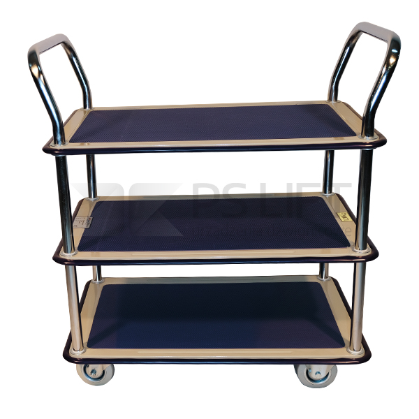 Wózek platformowy trzypółkowy PS-TD 3/120