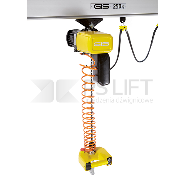Wciągniki łańcuchowe elektryczne z manipulatorem: PS-GPMH, PS-GPH i PS-GPHT