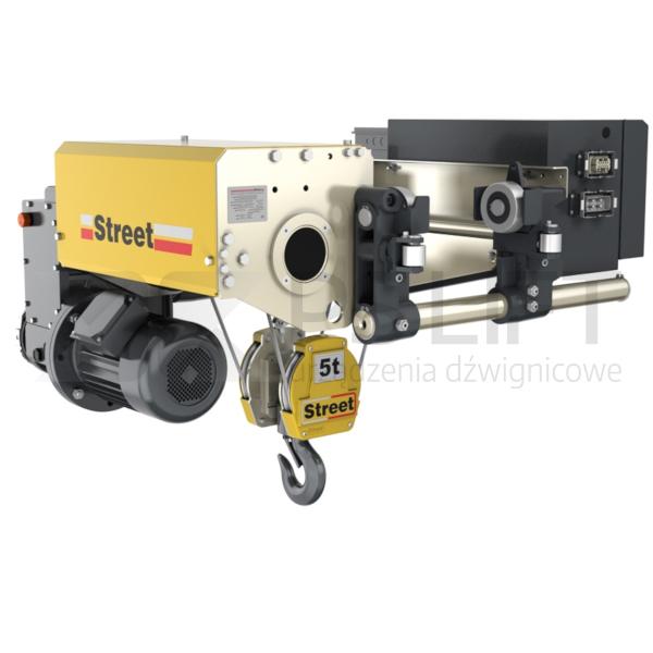 Wciągniki linowe Street ZX (udźwigi do 50 ton)