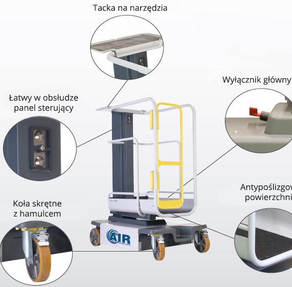 Mobilna platforma robocza AIR