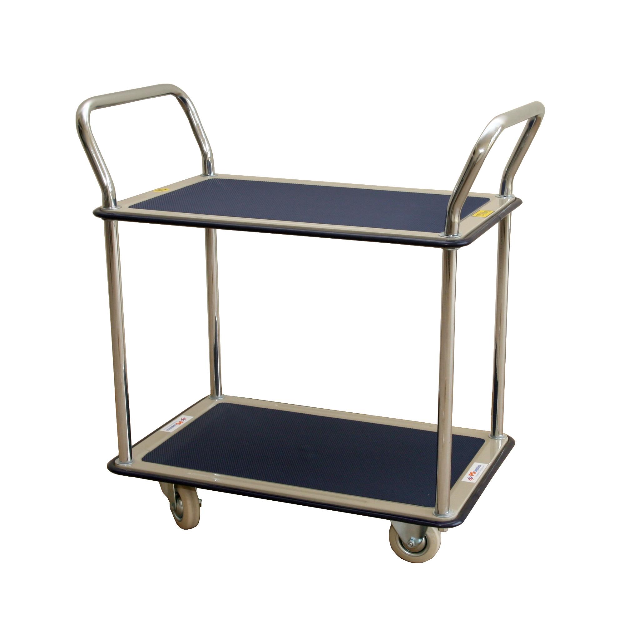 Wózek platformowy dwupółkowy PS-TD 2/120