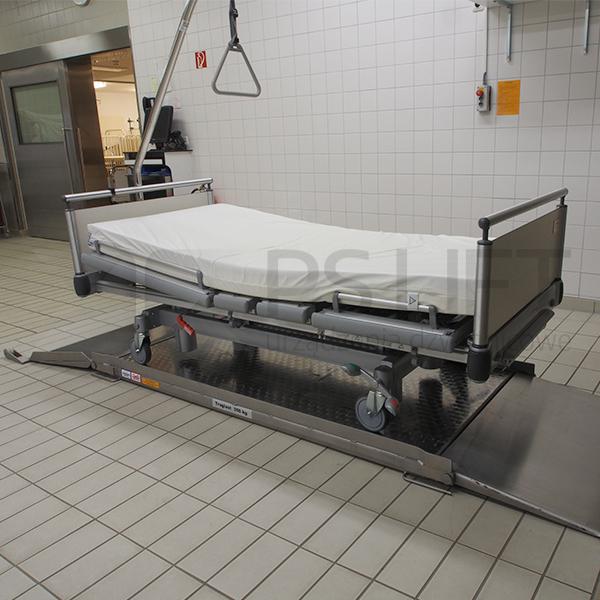 Dźwignik do łóżek szpitalnych