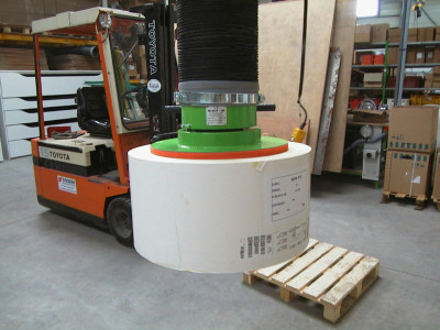 Podnośniki podciśnieniowe dla przemysłu drzewnego, papierniczego i meblarskiego