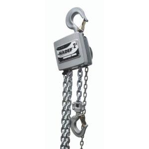 Aluminiowy wciągnik łańcuchowy ręczny HADEF