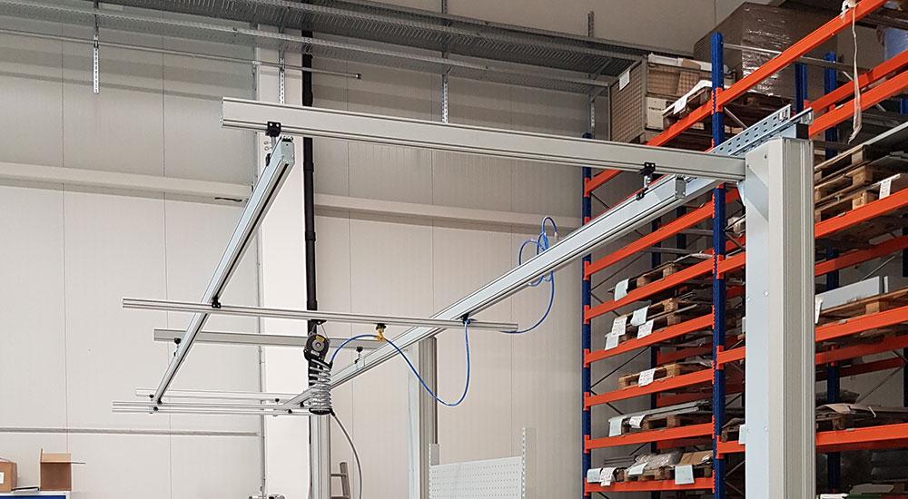 Lekkie systemy suwnic w PS Lift
